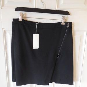 NWT Mercer & Madison Skirt Cross-Front Zipper